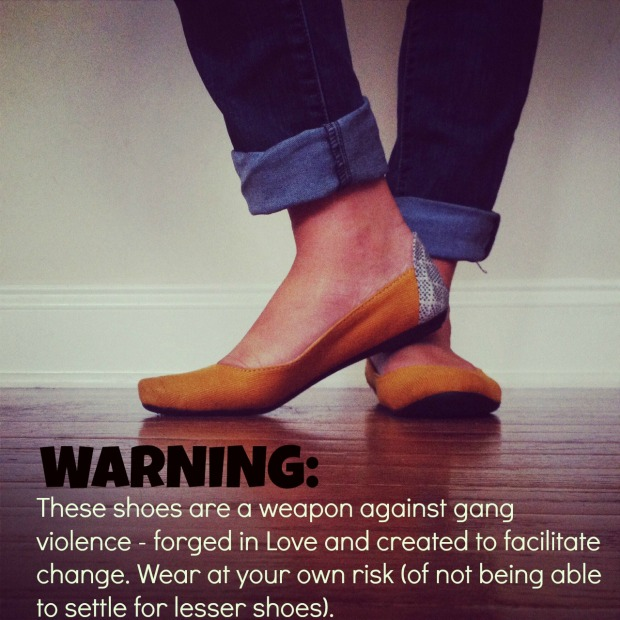 shoe warning